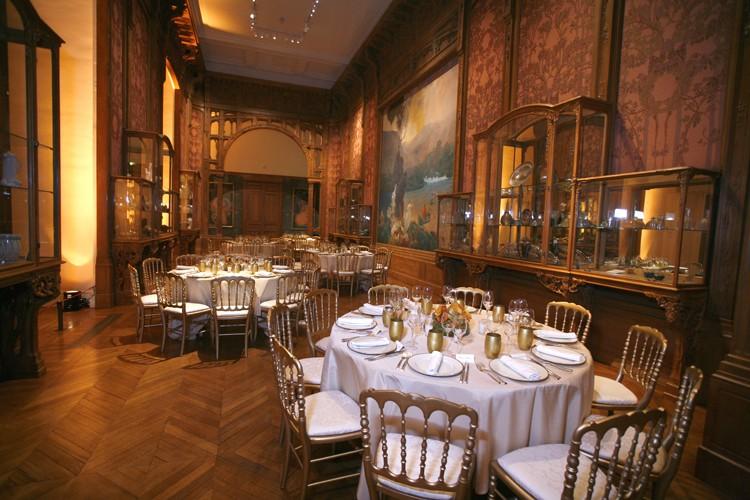 Las artes decorativas - montaje de banquetes.