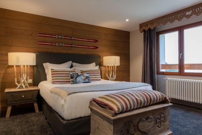 La mainaz - camera da letto