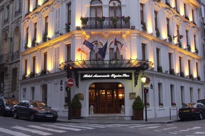 Amarante champs elysees salle s minaire paris 75 for Hotel chaine paris