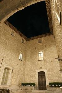 Chateau de Gourdon facciata