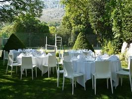 tavoli Chateau de Gourdon
