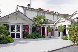 Die ursprüngliche Stadt Hôtel Acadie Paris Parc des Expositions Villepinte - Front
