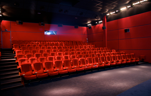 The red circle - screening room