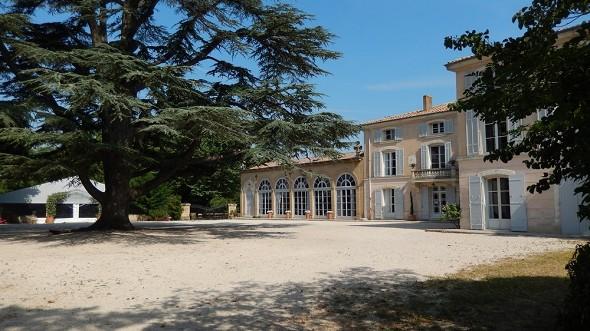 Alphéran castle - exterior