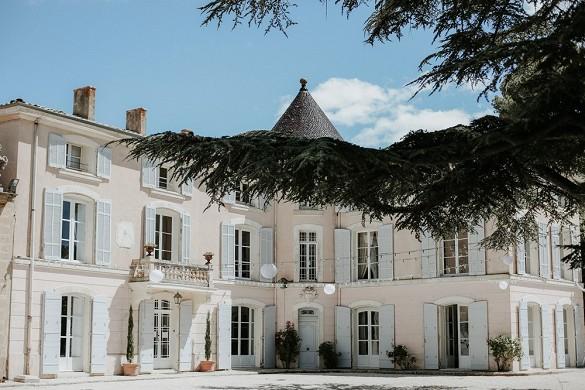 Alphéran castle - facade