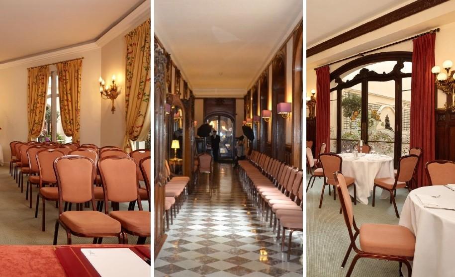 Tuileries Living Room - Hotel Regina