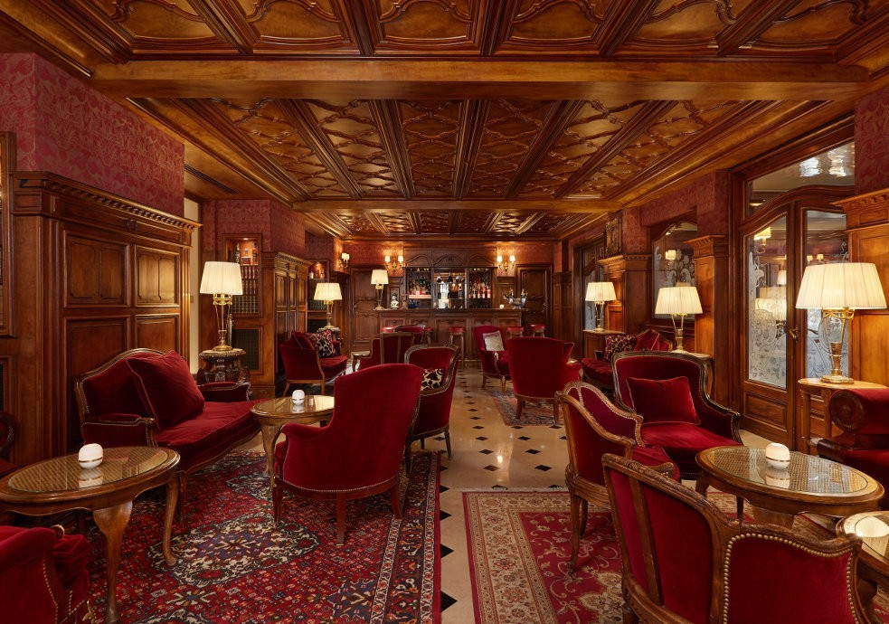 Regina Hotel - salón