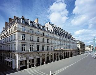 Hotel de fachada Lotti Paris