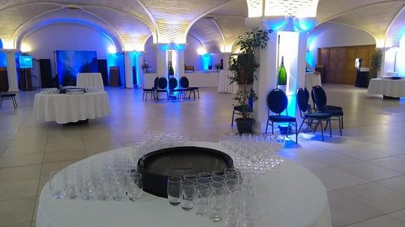 Caveau castelnau - reception area