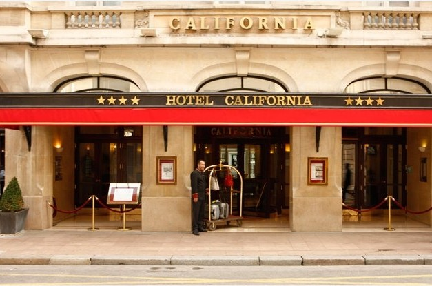 Hotel california paris - façade