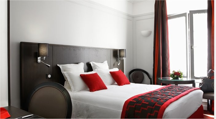 Hotel california paris - chambre