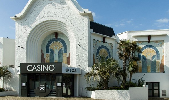 Casino joa de st-aubin - outside the casino