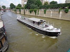 Henjo barge - Rental boat seminar room Paris