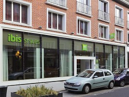 Ibis Styles Calais Centre - Front