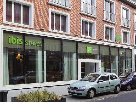 Ibis styles calais center - facade