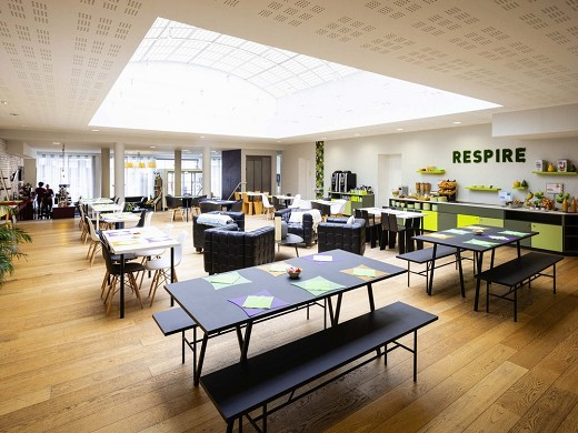 Ibis styles calais center - breakfast room