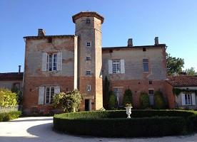Château de Thégra - Facade of the castle