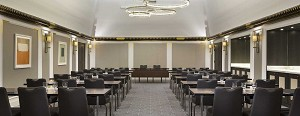 Clear and elegant, the Salon Boléro is suitable for plenary meetings as well as private events.