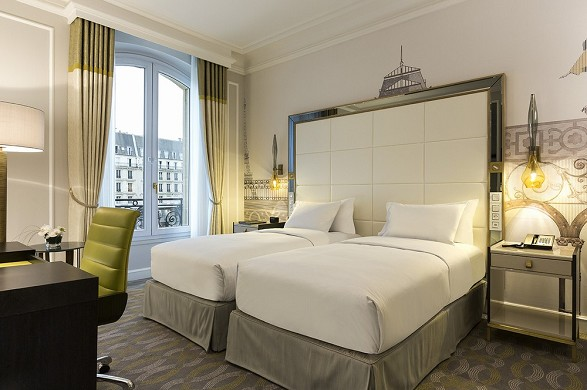 Hilton paris opera - deluxe twin room