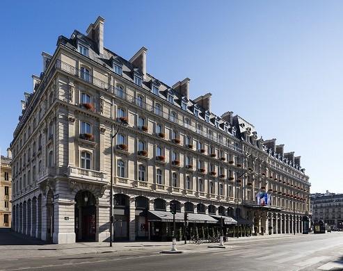 Hilton paris opera - facade