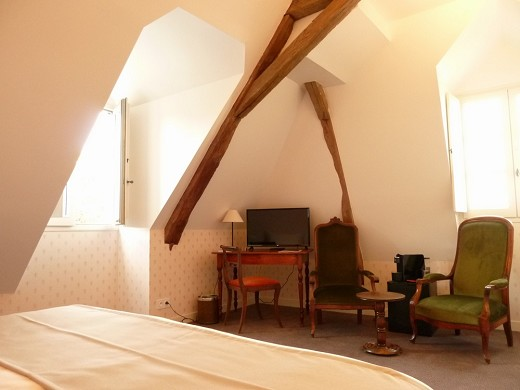 The great monarch of azay-le-rideau - comfort room