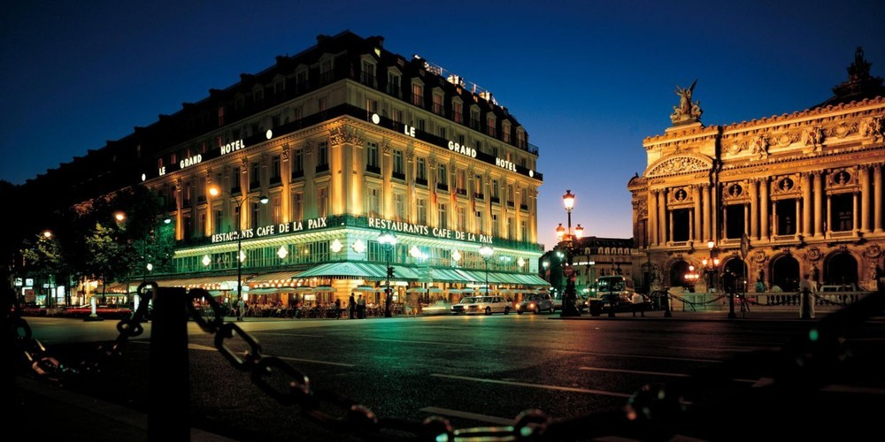 Intercontinental paris le grand hotel - de nuit