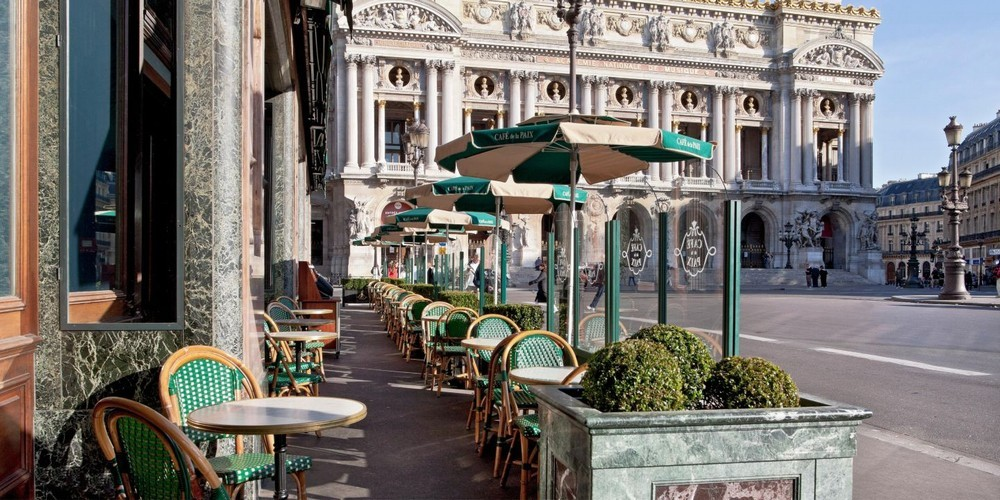 Intercontinental paris le grand hotel - terrasse
