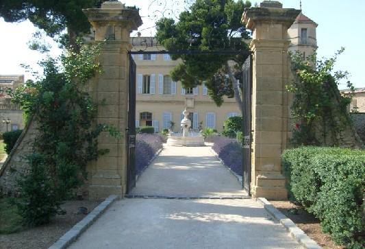 Chateau de seneguier 13 Inicio