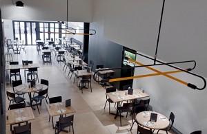 Basilic Café: sala ristorante