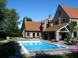 Domaine du Haut Ballot - Swimming pool