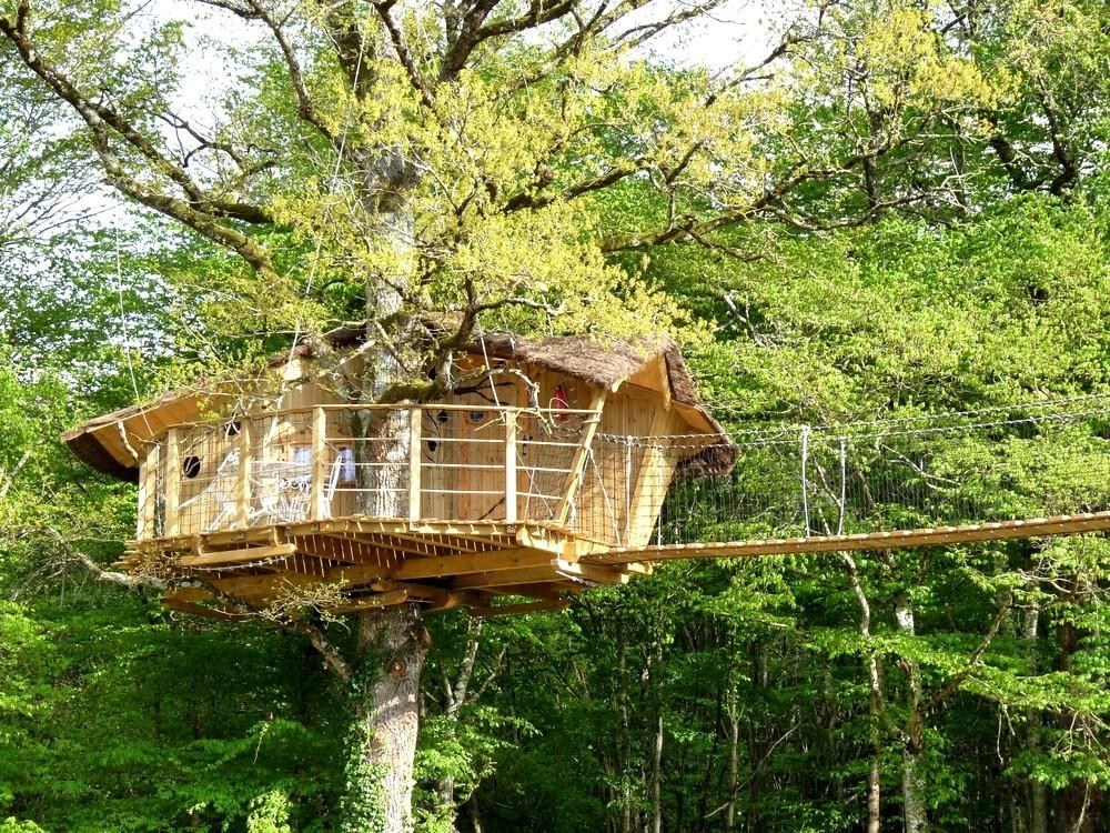 Defiplanet '- Hütten und Baumhäuser