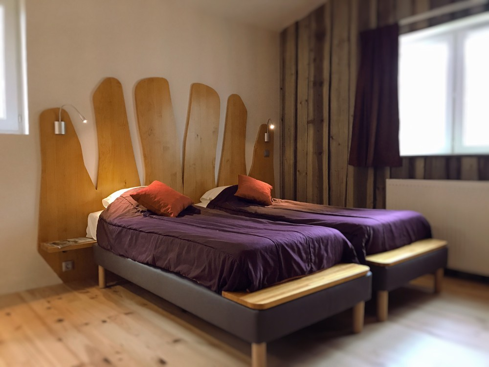 Défiplanet '- comfort in all seasons: original hotel room under the pines