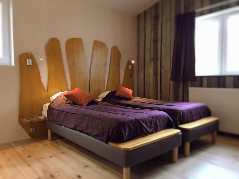 Defiplanet '- ein runder Komfort: die ursprünglichen Hotelzimmer unter dem Kiefern
