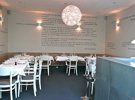L'Ecume des Mers - sala ristorante