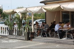 Villa Bersol terrazza del ristorante gradignan