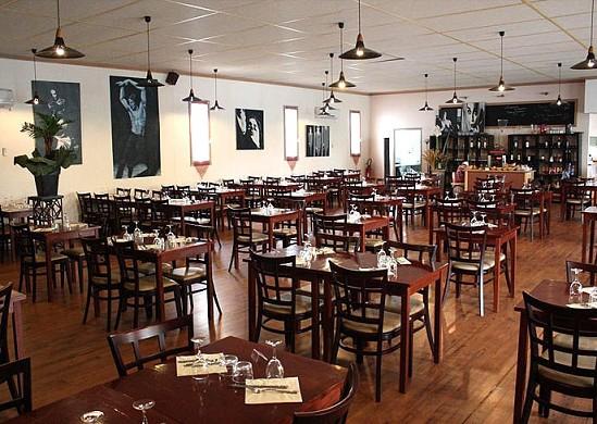 Villa Bersol ristorante all'interno