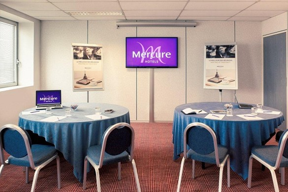 Mercure Paris Ivry Quai de Seine - sala de reuniones