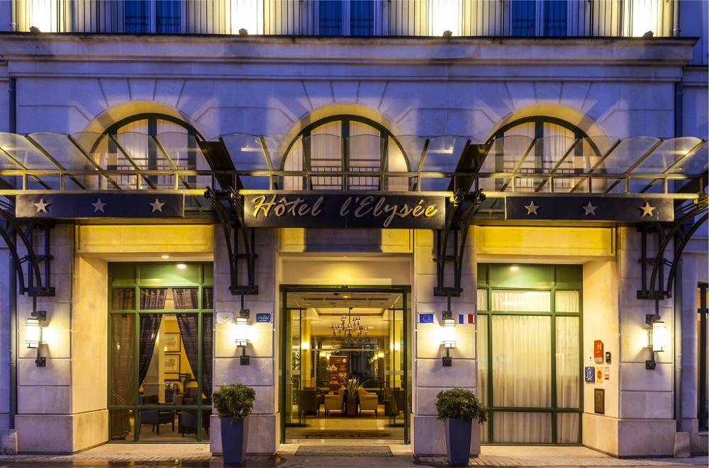 Hotel Elysée Val d'Europe - Front