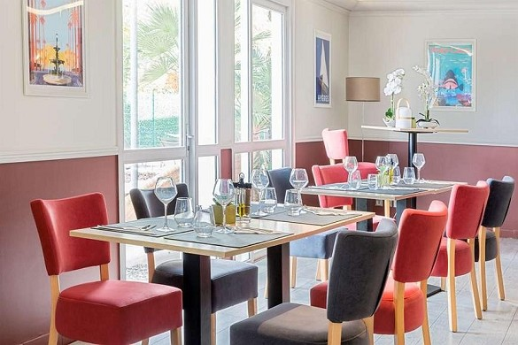 Best western plus hotel hyeres cote d'azur - restaurante