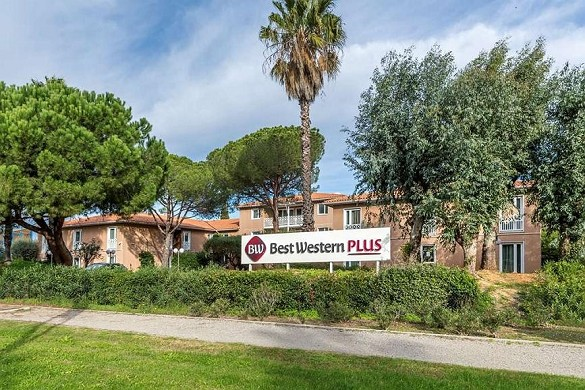 Best western plus hotel hyeres cote d'azur - hotel para seminarios en hyères