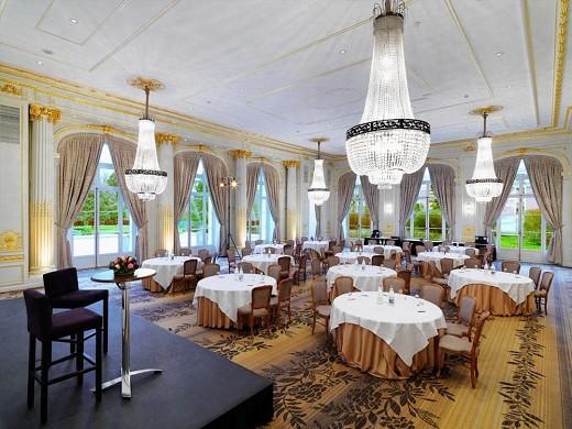 Trianon Palace Versailles, un hotel waldorf astoria, configuración para banquetes