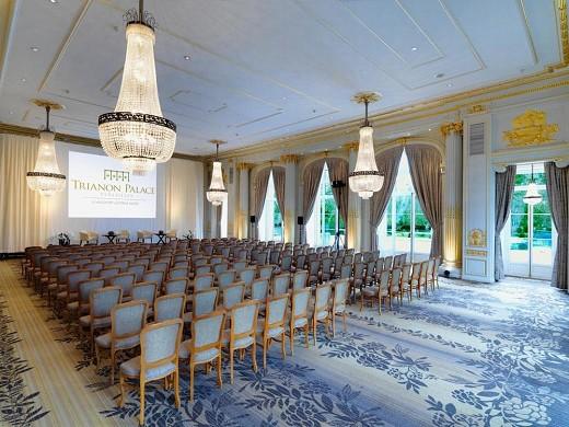 Trianon palace Versailles, un hotel waldorf astoria - sala de seminarios de teatro