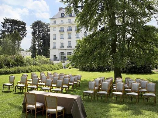 Trianon palace Versailles, un hotel waldorf astoria - seminario al aire libre