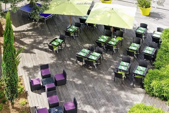 Novotel Paris Orly Rungis - terraza