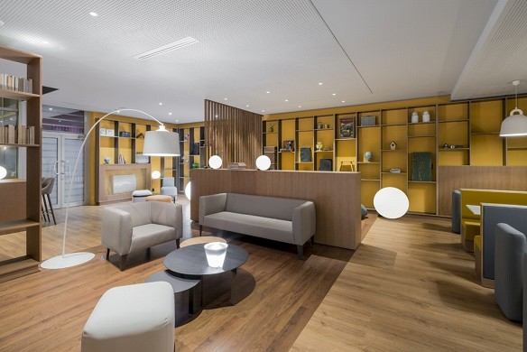 Holiday inn paris - marne valley - lobby abierto