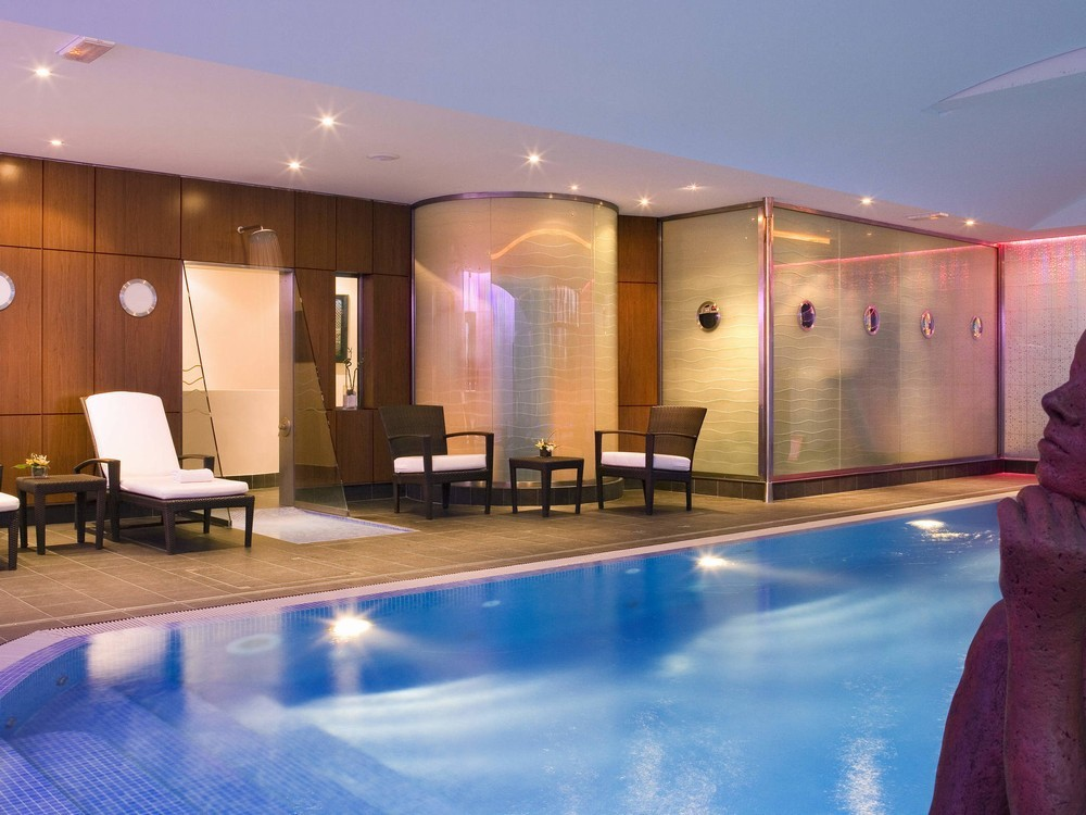 Mercure paris cdg airport  convention - piscine