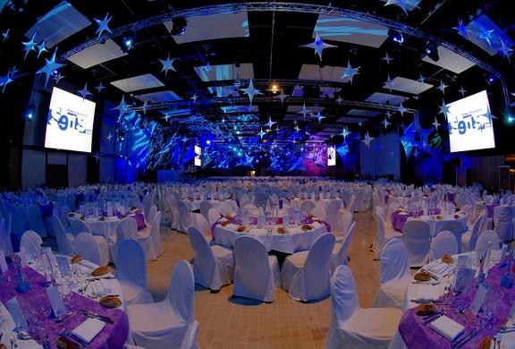 Centro Congressi Internazionale di cena di gala Lione 69