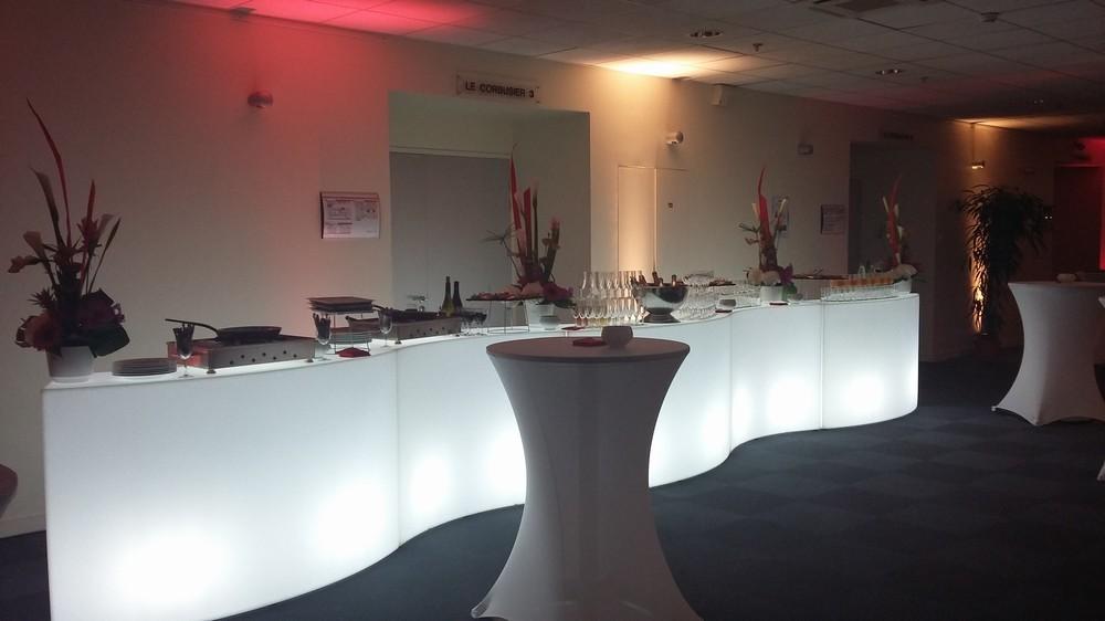 Saint Etienne convention center - lounge - Le Corbusier