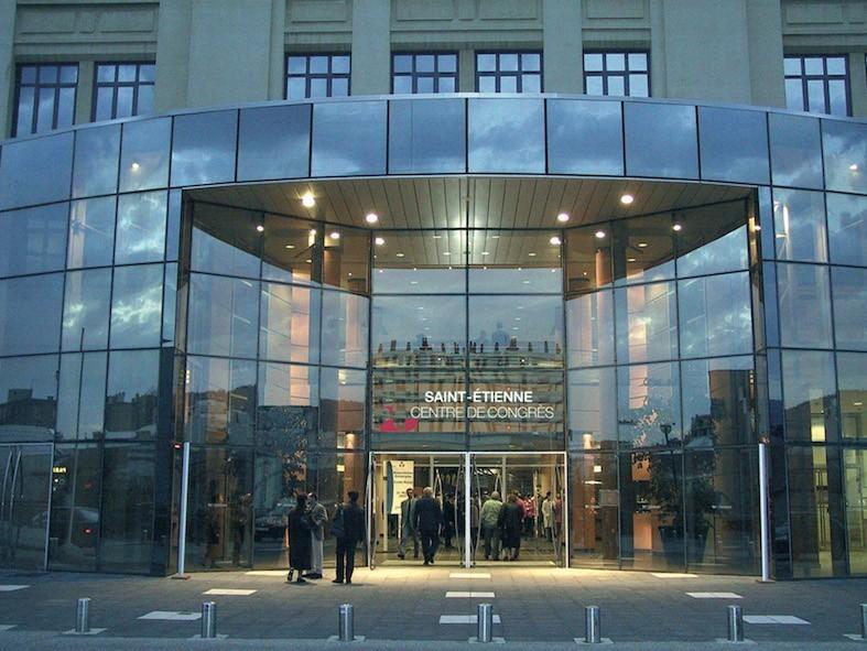 Saint Etienne convention center - the facade