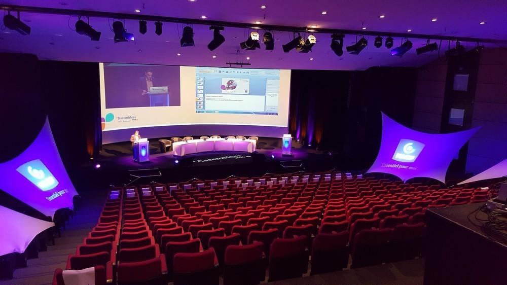 Saint Etienne convention center - amphitheater